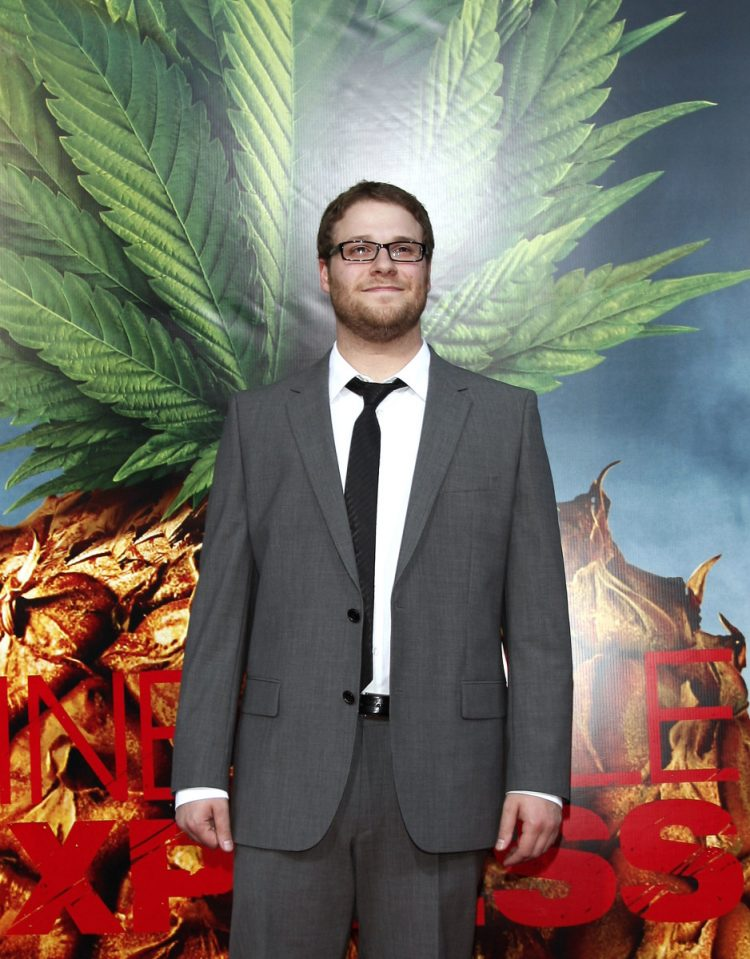 seth rogan celebrities who smoke weed