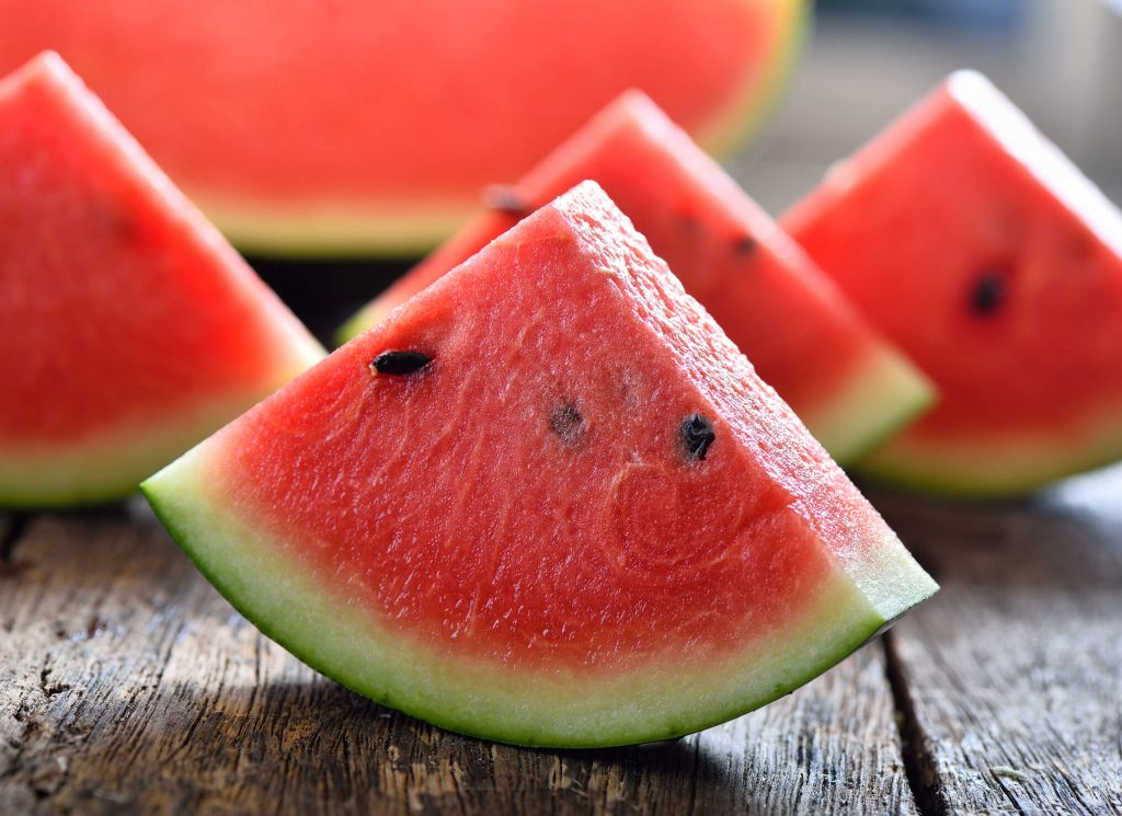avoid weed hangover with watermelon or other water-rich foods